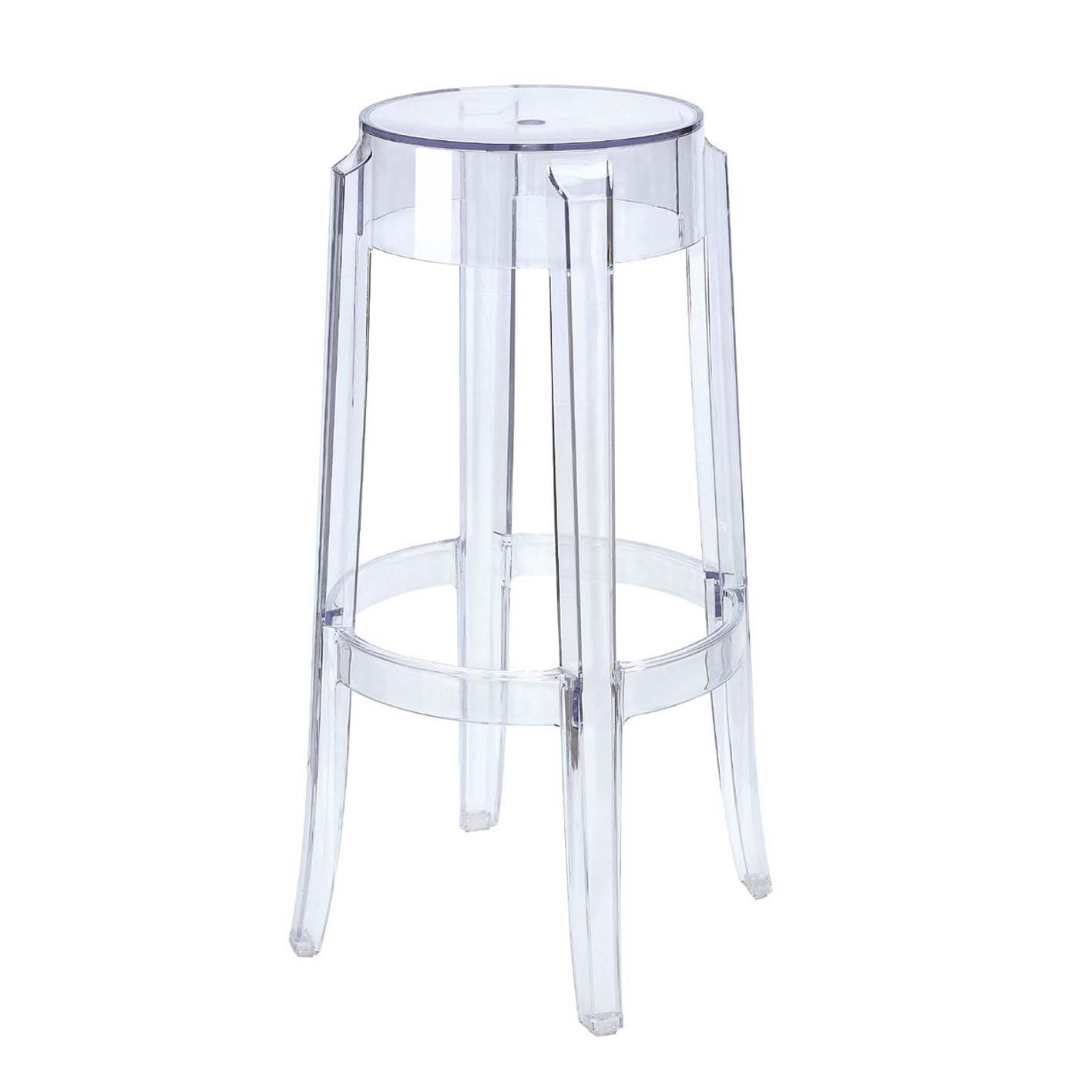 ghost bar stools  acrylic bar stools - pca